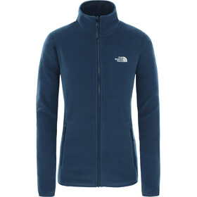 The North Face 100 Glacier Jack Doorlopende Rits Dames, blue wing teal
